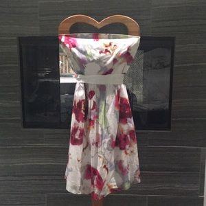 Summer Floral Cotton Dress